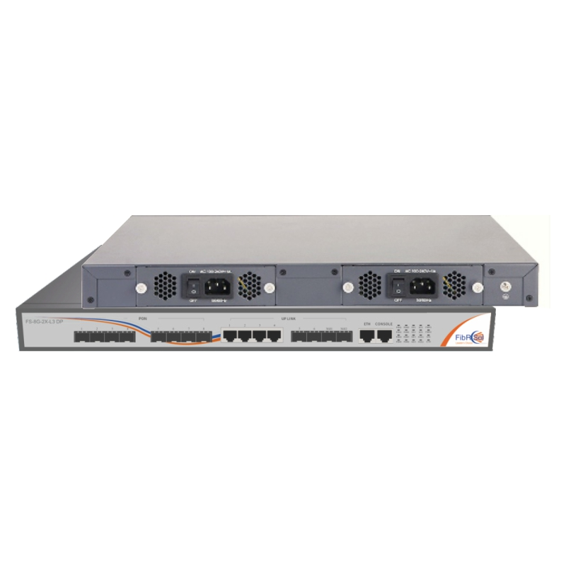 FS-8G-2X-L3 DP EPON OLT
