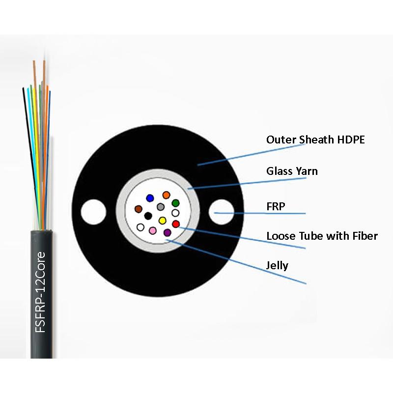 12-FRP-Fiber  Cable