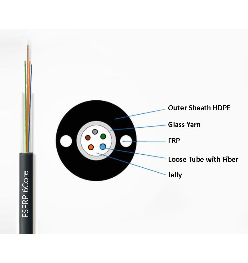 6-FRP-Fiber Cable
