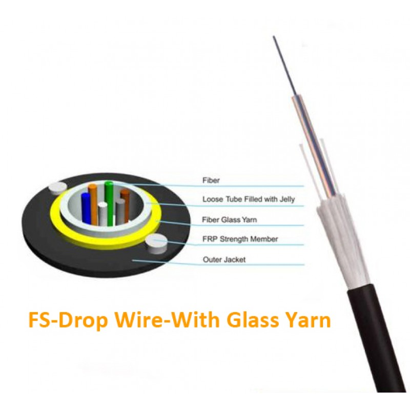 FS-Drop Wire-With Glass Yarn