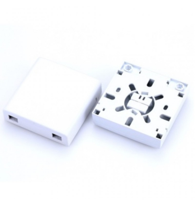 FTTH Wall Outlet (Indoor Termination Box White)
